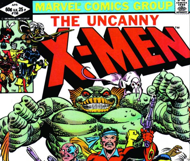 Uncanny X-Men #156 Cover
