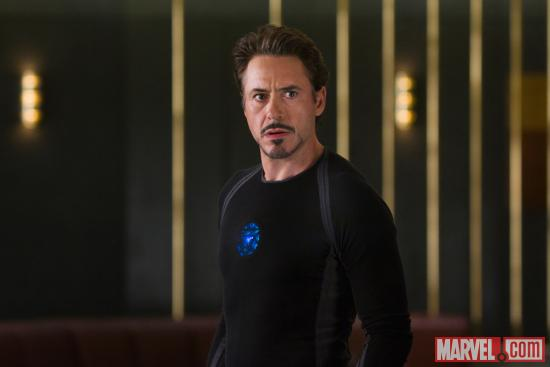 Robert Downey, Jr. stars as Tony Stark/Iron Man in Marvel's The Avengers