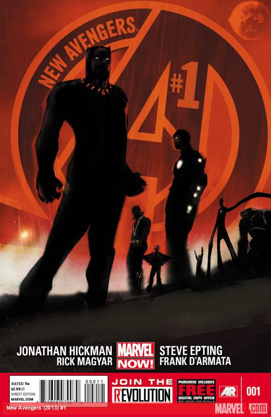 New Avengers (2012) #1 cover by Jock