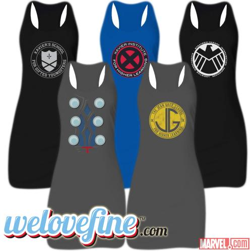 Women's Marvel Tunic Tanks by WeLoveFine