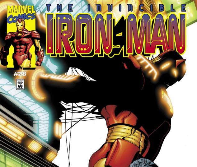 Iron Man (1998) #28 Cover