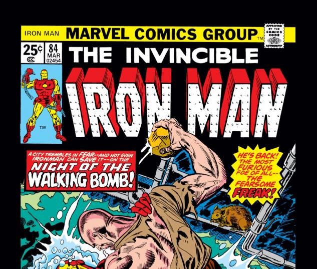 Iron Man (1968) #84 Cover