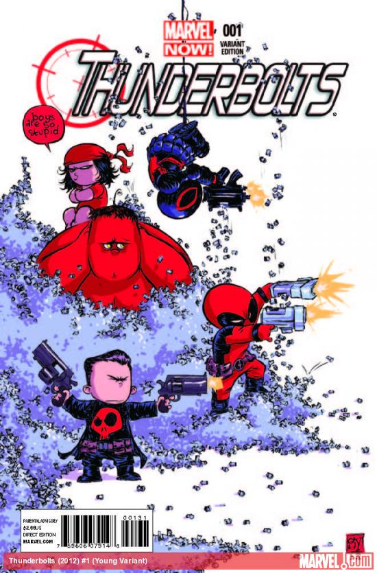 THUNDERBOLTS 1 YOUNG VARIANT (NOW)