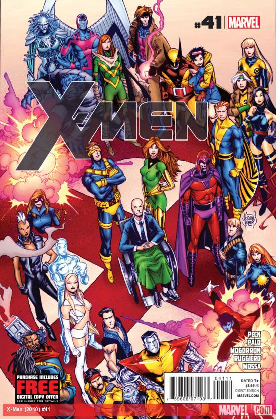 cover from X-Men (2010) #41
