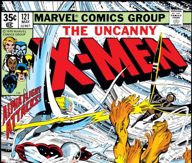 Uncanny X-Men (1963) #121 Cover