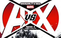AVENGERS VS. X-MEN 6 BRADSHAW SKETCH VARIANT (1 FOR 200, WITH DIGITAL CODE)