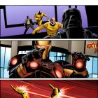 Iron Man (2012) #2 preview art by Greg Land