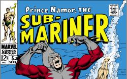 Sub-Mariner (1968) #5 Cover