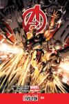 cover from Avengers (2012) #4