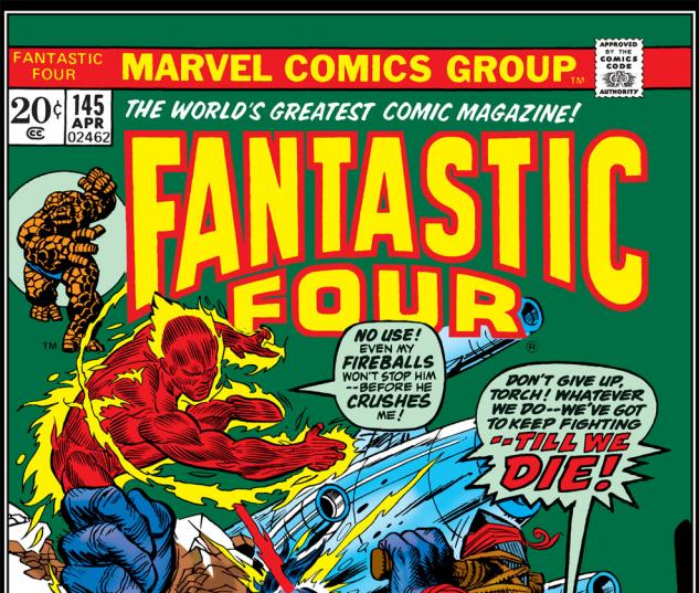 Fantastic Four (1961) #145 Cover