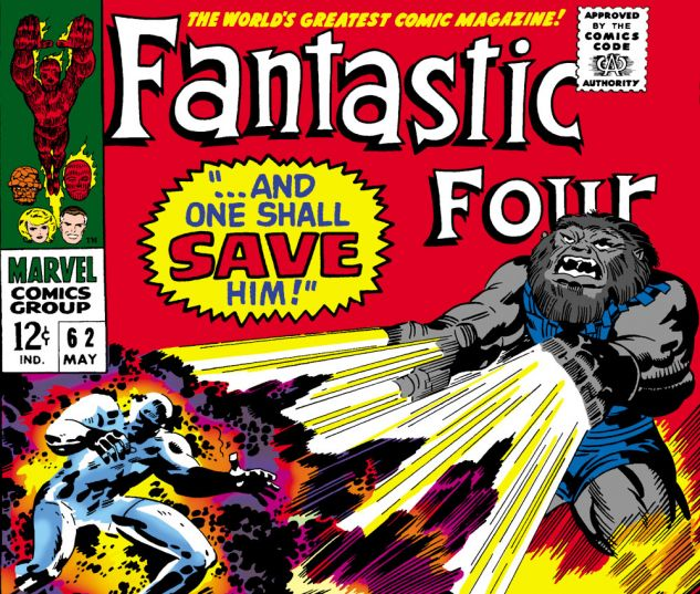 Fantastic Four (1961) #62 Cover