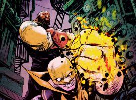 Power Man & Iron Fist by Sanford Greene
