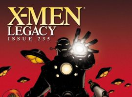 X-Men Legacy (2008) #235 (IRON MAN BY DESIGN VARIANT)
