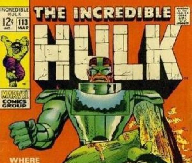 INCREDIBLE HULK (1962) #113 (Cover)
