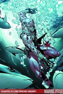 Deadpool (2008) #15 (2ND PRINTING VARIANT)