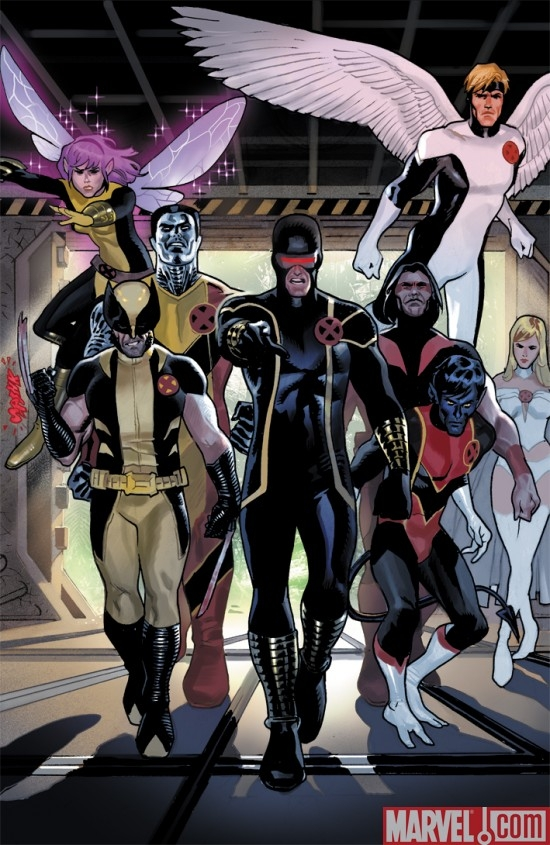X-MEN: LEGACY ANNUAL #1 art by Daniel Acuna