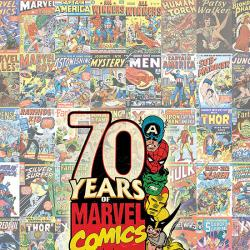 MARVEL 70TH ANNIVERSARY POSTER BOOK #1