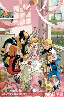 Wolverine and Power Pack (2008) #2