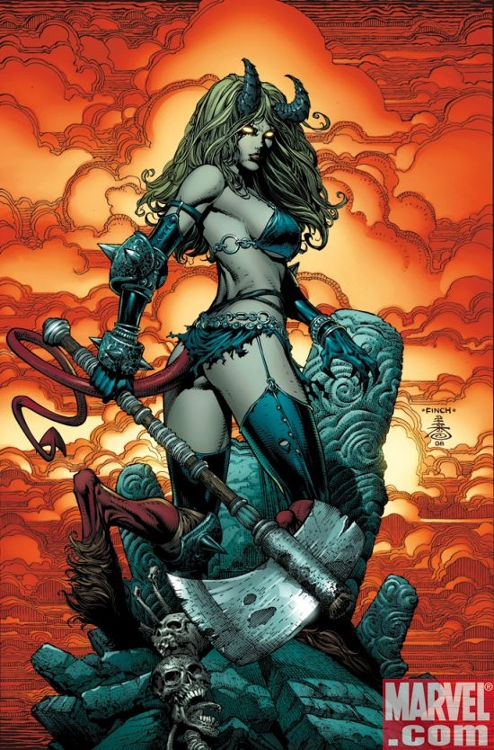 X-INFERNUS #1 cover by David Finch
