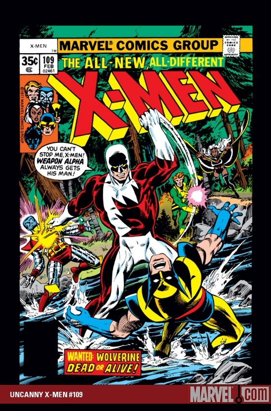 UNCANNY X-MEN #109