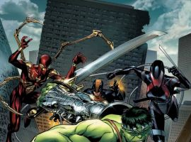 Avengers: The Initiative #5 Cover