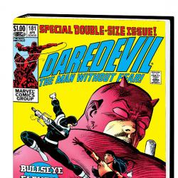 DAREDEVIL BY FRANK MILLER &amp; KLAUS JANSON OMNIBUS HC (VARIANT) COVER