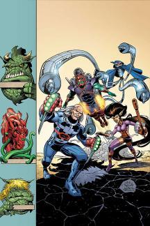 Jack Kirby's Galactic Bounty Hunters #5