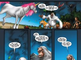 LOCKJAW AND THE PET AVENGERS UNLEASHED #4 preview art by Ig Guara