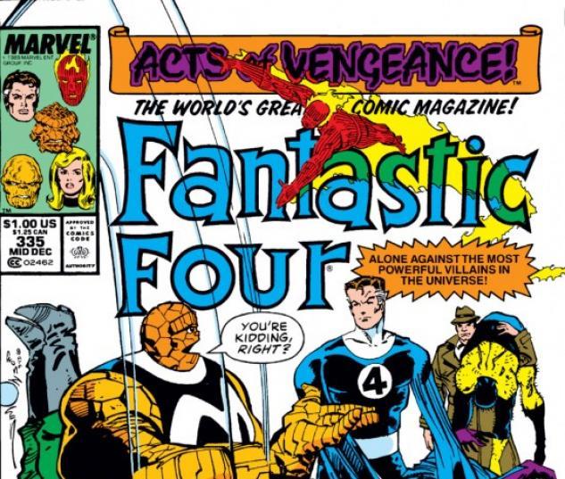 FANTASTIC FOUR #335