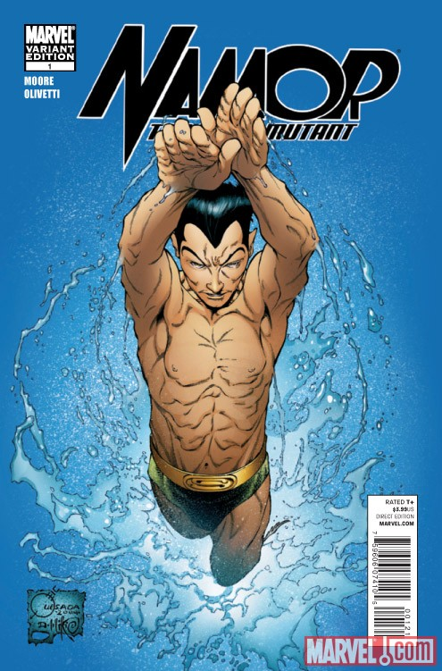 Namor: The First Mutant #1 variant cover by Joe Quesada