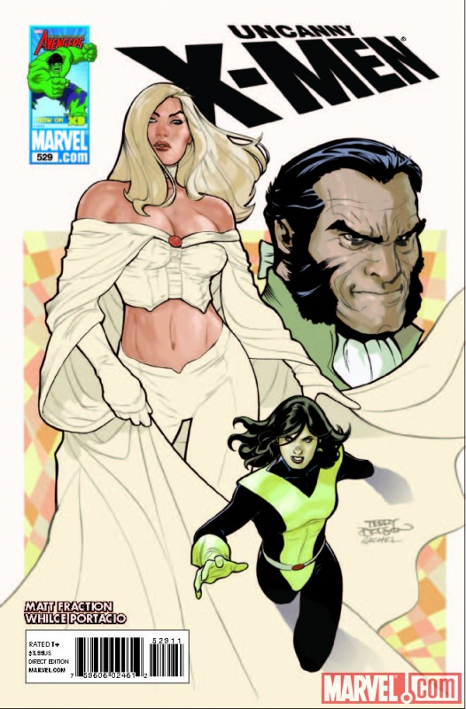 Image Featuring Emma Frost, Kitty Pryde