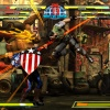 Screenshot of Captain America vs. Chris from Marvel vs. Capcom 3