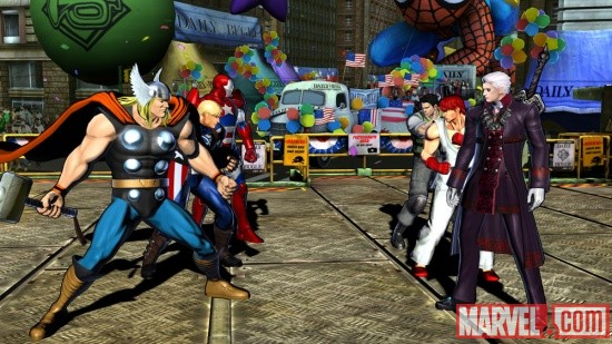6 alternate costumes from Marvel vs. Capcom 3