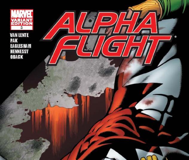 Alpha Flight (2011) #3, Eaglesham Variant