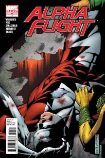 Alpha Flight (2011) #3 (Eaglesham Variant)