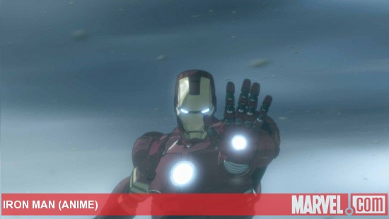 Iron Man Anime Screenshot 3