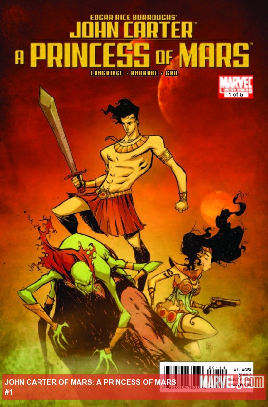 JOHN CARTER: A PRINCESS OF MARS 1