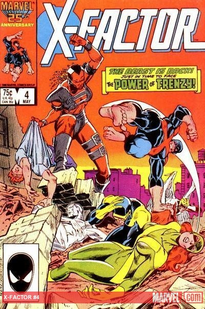 X-Factor (1986) #4 cover