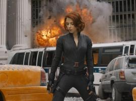 Scarlett Johansson stars as Black Widow in Marvel's The Avengers