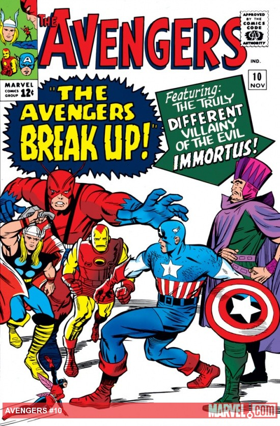 Avengers (1963) #10 cover