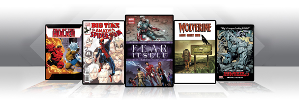 Marvel Comics App: Latest Titles 10/19/11