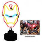 Iron Man Neon Sign and AvX #1 Cover Art