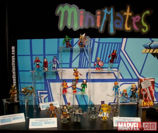 Diamond Select Toys Minimates Marvel Group