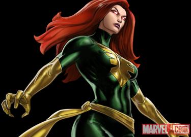 Phoenix (X-men) Detail