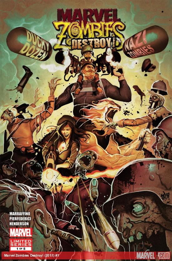 Marvel Zombies Destroy! (2011) #1