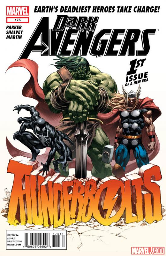 Dark Avengers #175 cover by Mike Deodato