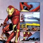 Ultimate Comics Iron Man #1 preview art by Matteo Buffagni
