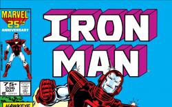 Iron Man (1968) #206 Cover