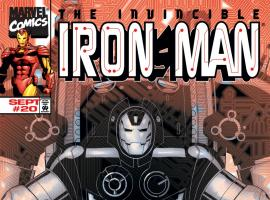Iron Man (1998) #20 Cover