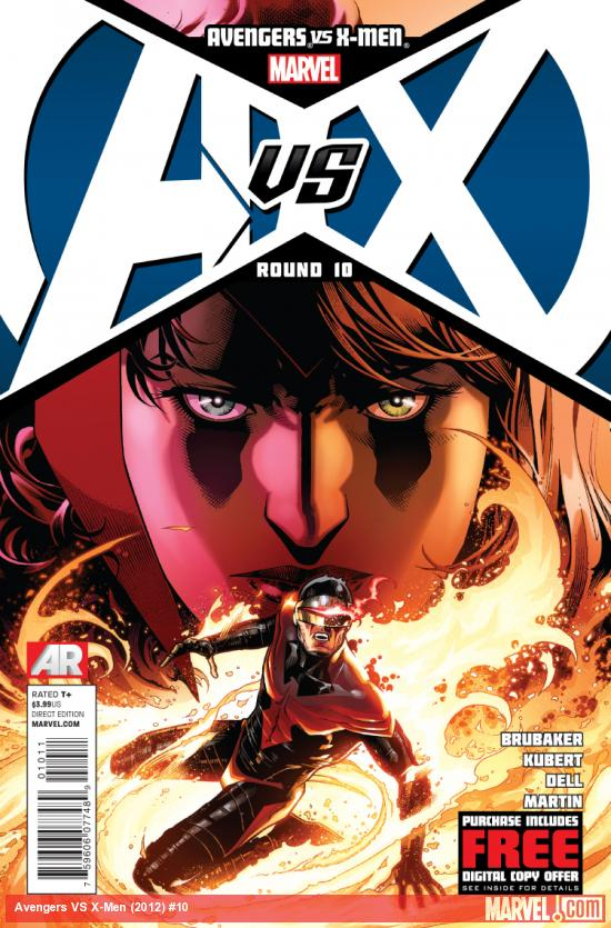 Cover: Avengers VS. X-Men Issue #10